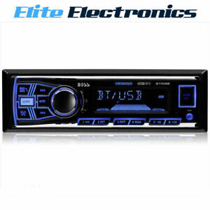 BOSS AUDIO 611UAB BLUETOOTH MECHLESS MP3 USB SD AUX CAR PLAYER RECEIVER STEREO