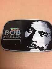 Bob MARLEY Jamaica bandera color de esmalte negro hebilla de cinturón-cinturón toma 4CM