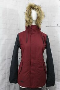 Volcom Fawn Insulated Snowboard Jacket, Womens' Extra Small/XS, Scarlet New