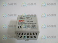 MEAN WELL DR-4505 DIN RAIL POWER SUPPLY *USED*