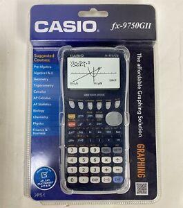 Casio FX-9750GII Graphing Calculator Algebra Calculus