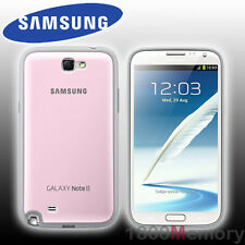 GENUINE Samsung Galaxy Note 2 II Protective Cover Case Pink GT-N71000 GT-N7105