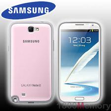 GENUINE Samsung Galaxy Note 2 II Protective Cover Case Pink GT-N71000 GT-N7105