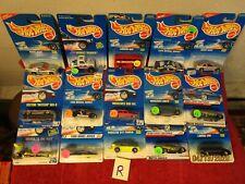 Lot of 15 Hot Wheels on Cards London Bus Model Series Street Roader 1990s