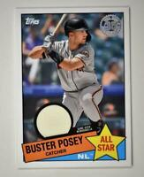 2020 Topps Series 2 1985 All Star Relic #85ASR-BP Buster Posey