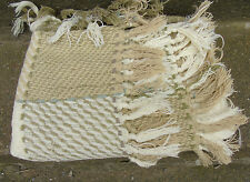 Vintage hand woven throw