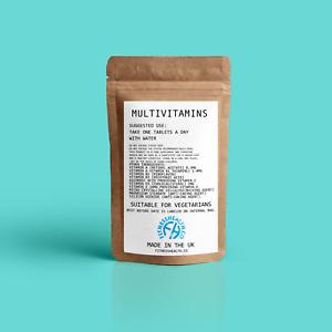 Multivitamin tablets - Vitamins A,B1,C,D & E 100% NRV (RDA) Multi Vitamins