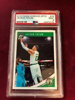 2018 Panini Donruss Optic #76 JAYSON TATUM PSA Mint 9 Boston Celtics *SC9-774
