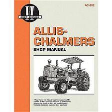 I&T Shop Manual For Allis Chalmers D19 D21 180 185 190 190XT 200S 210 220