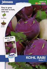 Johnsons Seeds - Pictorial Pack - Vegetable - Kohl Rabi Ballot F1 - 50 Seeds