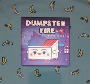 Dumpster Fire Dumpo the Clown Vinyl 100% soft Limited Edition! IN HAND