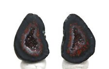 Geode Pair Crystal Cluster Tabasco Mexico Tobasco Great Wire Wrapping Jewelry ~