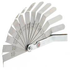 Fühlerlehre Zoll Werkzeug Abstandslehre Ventillehre Mess Blattlehre zöllig BGS