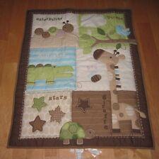 Circo Baby Blanket Quilt Giraffe Turtle Bee Alligator Caterpillar Birdie Stars