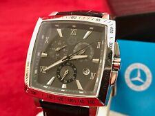 Mercedes Benz Classic Car Carre Design Chronograph Watch