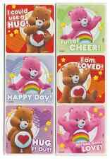 "25 Care Bears Love and Cheer Stickers, 2.5"" x 2.5"" each, Party Favors"