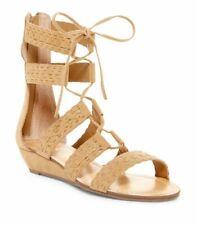 Carlos by Carlos Santana Gladiator Sandals Size 8 M Kamilla Brulee Beige