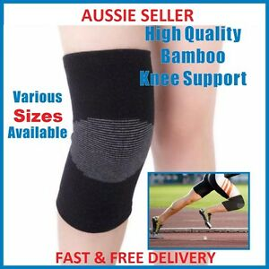 Premium High Quality Orthopedic Bamboo Compression Knee Support Brace Safe Guard