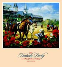 Churchill Downs 130th KENTUCKY DERBY 2004 OFFICIAL POSTER Horse Racing Action