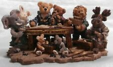 BOYDS COLLECTION NOAH & COMPANY  ARK BUILDERS LTD ED 1996 2278 NEW & BOXED