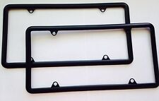 2x Black Matte License Plate for Front and Rear Plates  fits Acura