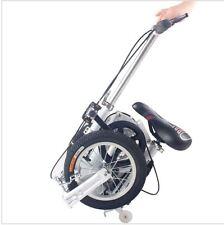1.2 m carbon steel frame spring fork 12 inch wheels unisex mini folding bike