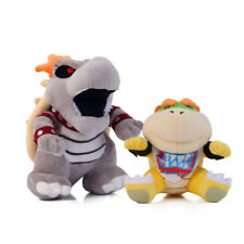 Super Mario Bros  Dry Bowser Bones Koopa and Koopa Jr. Bowser Figure Plush Dolls