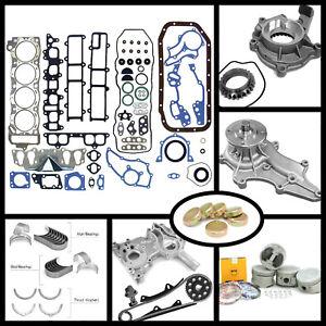 85-95 TOYOTA PICKUP 2.4L 22RE 22REC SOHC NEW MASTER OVERHAUL ENGINE REBUILD KIT