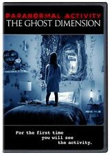 Paranormal Activity: The Ghost Dimension (DVD, 2016) USED VERY GOOD