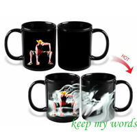 JP anime Jump One piece Pirate hero captain Monkey D. Luffy color change mug cup