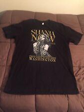 Shania Twain Life's About To Get Good Washington Tour T-Shirt Size Xl