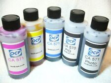 GENUINE OCP INK KIT COMPATIBLE WITH CANON MG5750 MG6850 MG7750 PGI 570 CLI 571