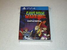Caveman Warriors Limited Edition Sony PS4 Sealed Import 2600 Copies
