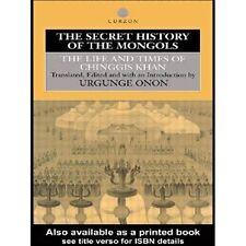 Onon, Urgunge-Secret History Of The Mongols  BOOK NEW