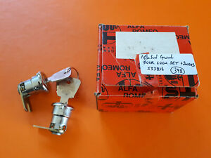 CLASSIC ALFA ROMEO ALFASUD SPRINT NOS SET OF 2 DOOR LOCKS WITH 2 KEYS 533216