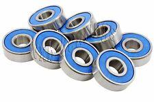 High Precision Pack of 8 Skateboard Si3N4 Ceramic ABEC-7  Ball bearings