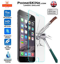 100% Genuine Tempered Glass Film Screen Protector For Apple iPhone 7 PLUS NEW 9H