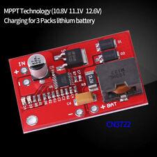 12V MPPT Solarpanel Controller Li-Ion 18650-Akkus Batterie Charging Ladegerät