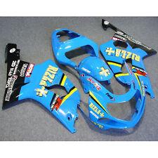RIZLA INJECTION ABS Fairing Fit For SUZUKI GSXR600 750 GSXR 600 750 01-03 02 5AB