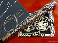 MONTBLANC CRISTOBAL COLON TOLEDO FOUNTAIN PEN ARTISAN LIMITED EDITION YEAR 2008