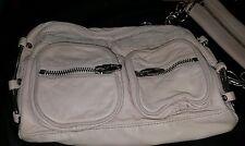 Alexander Wang Brenda Zip Chain Shoulder Bag in Blush Crossbody