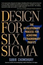 Design for Six Sigma: The Revolutionary Process fo