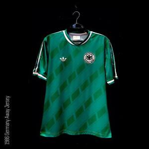 Germany 1986 world cup Away Retro Soccer Jersey Football shirt