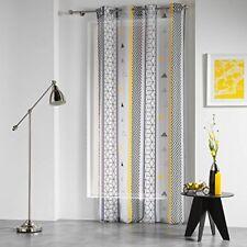 Douceur D'intérieur Yellow Mix Panneau À oeillets Polyester Imprime 240 x 140