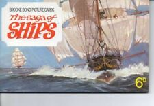 In Official Album Ships/Boats Original Collectable Tea Cards