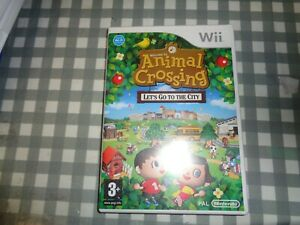 Animal Crossing: Let's Go To The City (Nintendo Wii) -  Incl Manual,free p+p