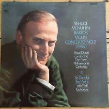 ASD 2281 Bartok Violin Concerto / Yehudi Menuhin / Dorati NPO S/C