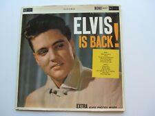ELVIS PRESLEY 1960    UK LP  ELVIS   IS BACK   RCA RD-27171  1ST  PRESS