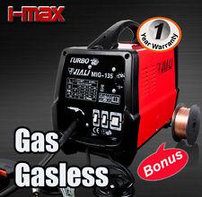 NEW MODEL 135 Amp MIG/MAG Welder Welding Machine Gas Gasless Portable Tool 135A