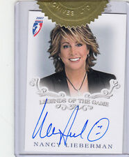 2007 Rittenhouse Wnba Legends Of The Game Nancy Lieberman Topper Autograph Auto
